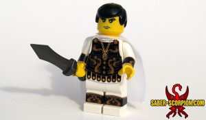 Roman Gladiator Emperor Commodus Custom LEGO Minifigure