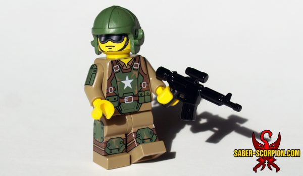 Post-Nuclear Fallout Combat Armor Minifigure