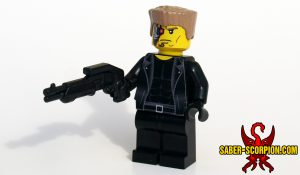 Cyborg Ex-Terminator Custom LEGO Minifigure