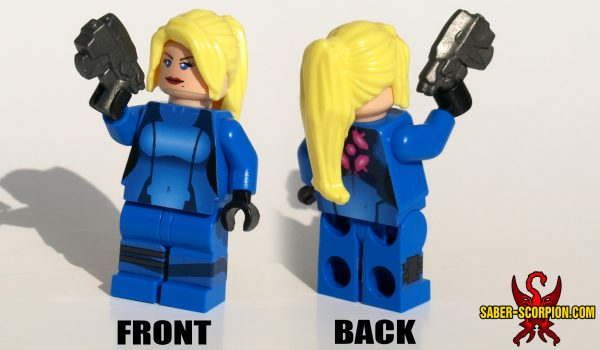 Zero Suit Huntress Custom LEGO Minifigure