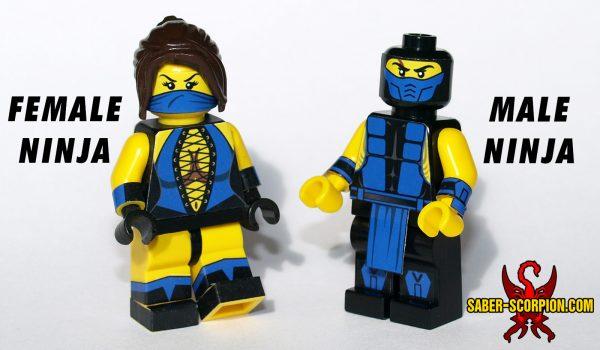 Custom LEGO Minifig: Mortal Ninja Kombat