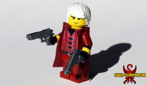Custom LEGO Minifig Devil Hunter