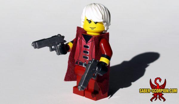 Custom LEGO Minifig Devil Hunter