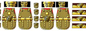 Minifig Decals: Ancient Chinese Armor
