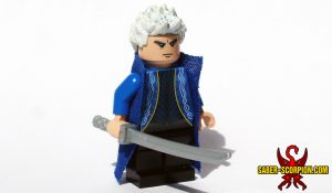 Devil Slayer Evil Twin Custom LEGO Minifig