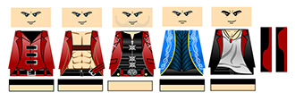Devil Hunters LEGO Minifigure Decals