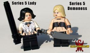 Custom LEGO Minifigure Devil Hunter Ladies