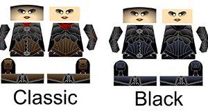 Custom LEGO Minifig Decals Demon Hunter