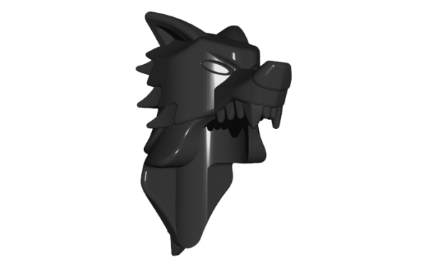 BrickWarriors Wolf Pelt Helm
