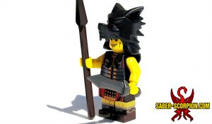Ancient Roman Standard Bearer Custom LEGO Minifigure