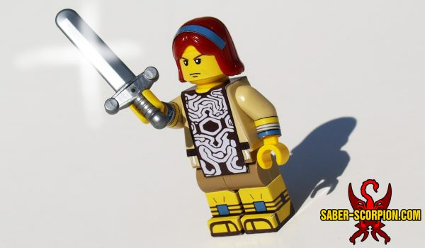 Colossus Warrior of the Wander Shadow Custom LEGO Minifig