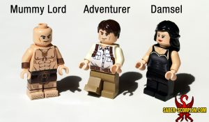 Custom LEGO Minifigure Mummy Slayers