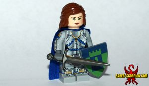 Wulfgard Severina Kallistos Custom LEGO Minifig Female Knight