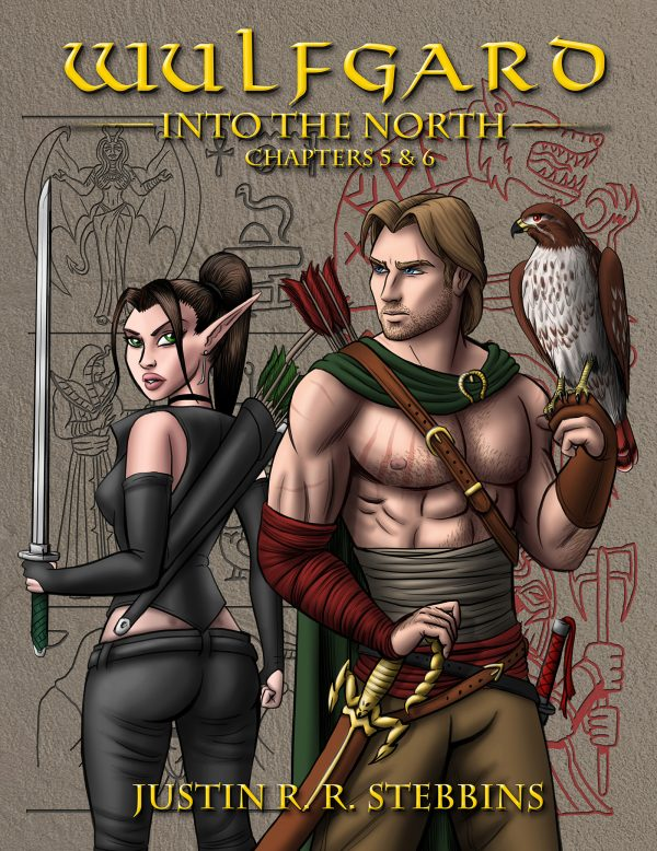 Wulfgard Into the North Chapters 5 & 6 Standard Cover