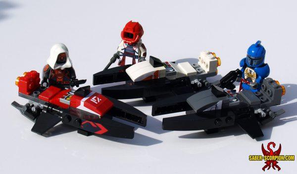Custom LEGO Set: Mythic Space Sparrow Hoverbike of Destiny