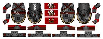 Custom LEGO Uruk Orc Decals