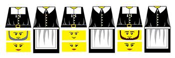 Custom LEGO Thanksgiving Pilgrims Decals