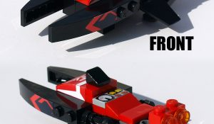 Custom LEGO Set: Mythic Space Sparrow Hoverbike of Destiny