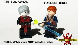 Custom LEGO Minifigure MOC Fallen Light Order Star Space Wars