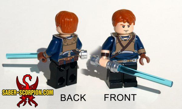 Custom LEGO Minifigure Space Wars Fallen Order Hero