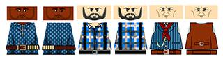LEGO Wild West Outlaw Gang 2