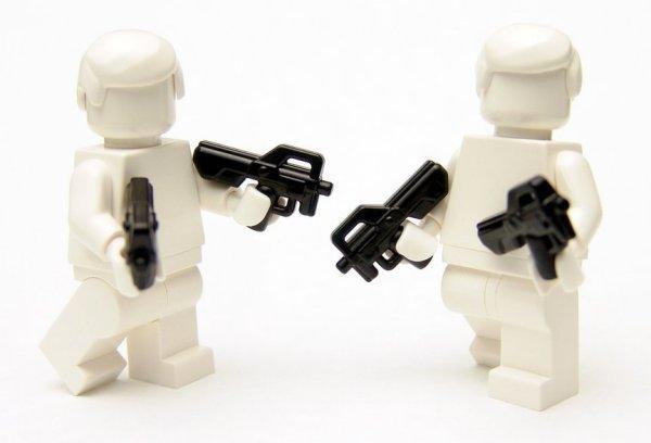 Brickarms Combat PDW P90 SMG
