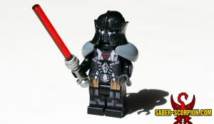 Ancient Armored Dark Star Space Wars Lord