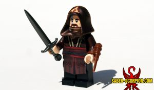 Spanish Assassin Custom LEGO Minifigure