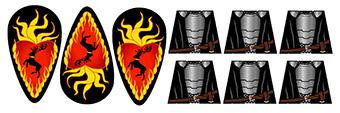 Dark Fantasy Knights of the Burning Stag