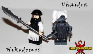 Vhaidra and the Destiny of Nikodemos Custom Lego Minifigures