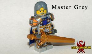Master Grey Paladin Lord Custom LEGO Figure