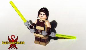 Minifig Space Wars Light Apprentice Girl