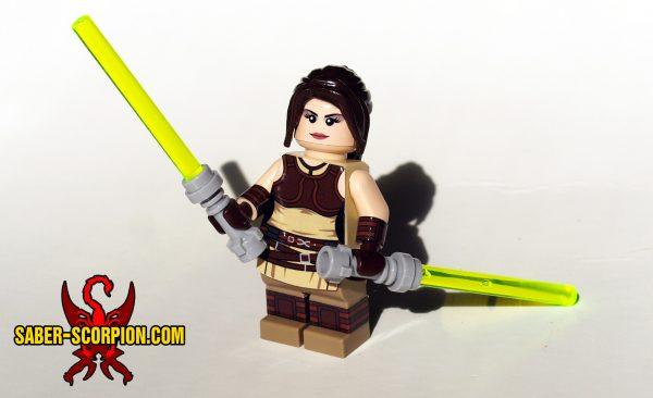 Minifig Space Wars Light Apprentice Girl
