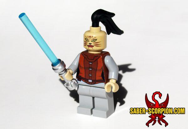Custom LEGO Star Guardian Wars Female Cathar Knight
